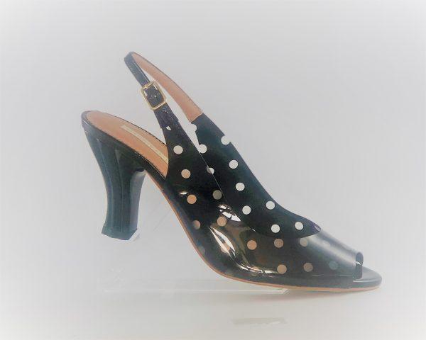 Zapato Hannibal Laguna vinilo lunares